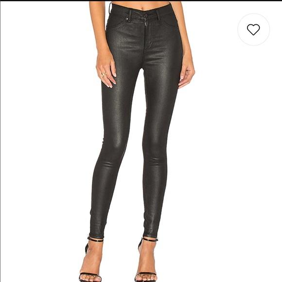 03b391806e52 Cheap Monday Denim - Cheap Monday 'high spray shine' coated jeans NWOT